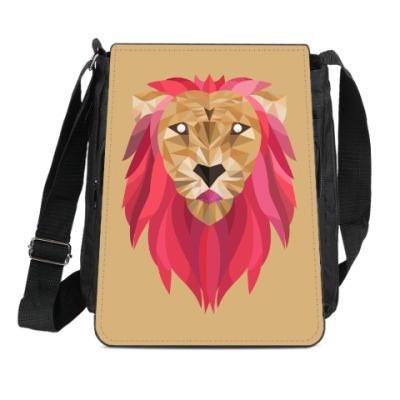 Сумка-планшет Лев / Lion