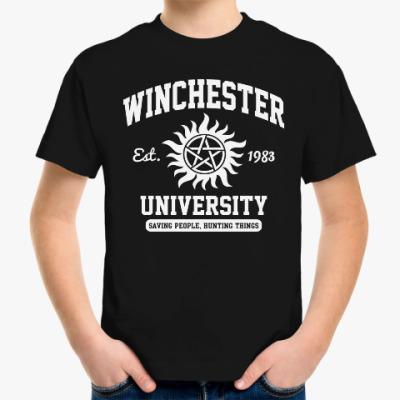 Детская футболка Winchester University