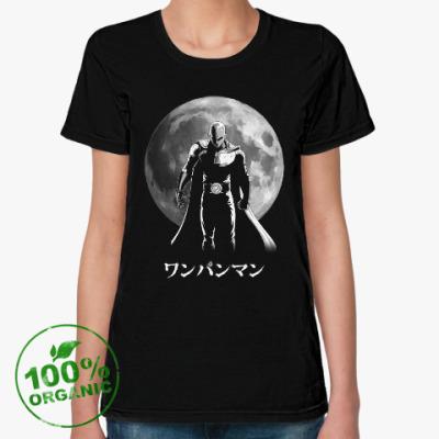 Женская футболка из органик-хлопка One-Punch Man