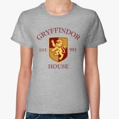 Женская футболка Gryffindor