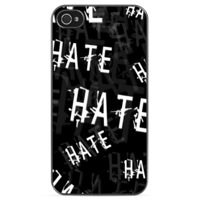 Чехол для iPhone Ненависть