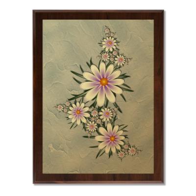 Плакетка Нежные цветы