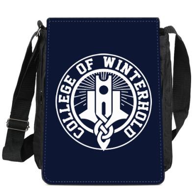 Сумка-планшет Skyrim . College of Winterhold