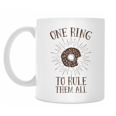 Кружка One Ring to Rule Them All