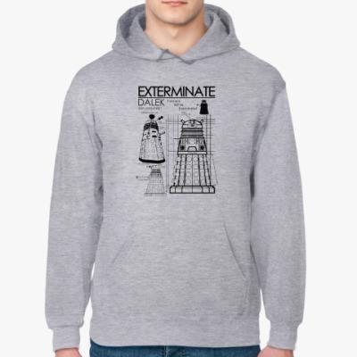 Толстовка худи Dalek plan