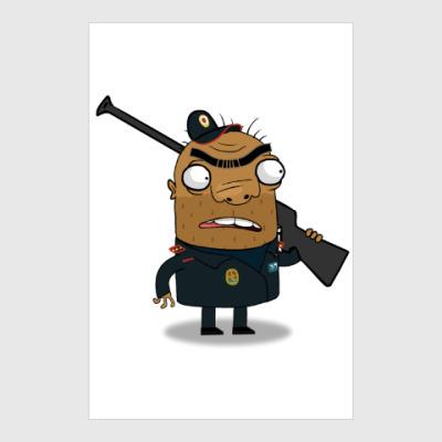 Постер Шамиль-охранник