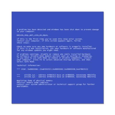 Наклейка (стикер) BSoD