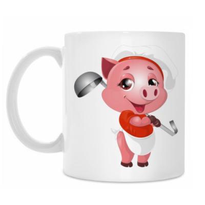 Кружка Piggy Chef