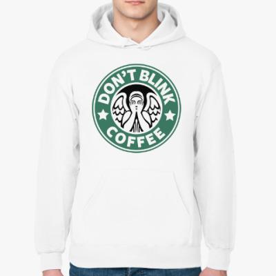 Толстовка худи Don't Blink Coffee