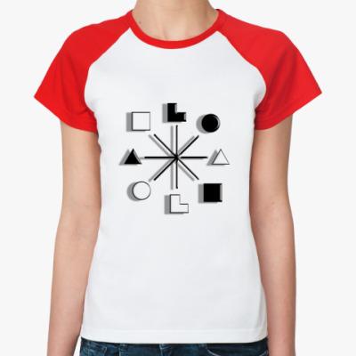 Женская футболка реглан   Есенин, ИЭИ