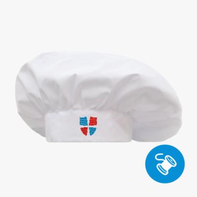 Поварской колпак Поварской колпак белый, вышивка