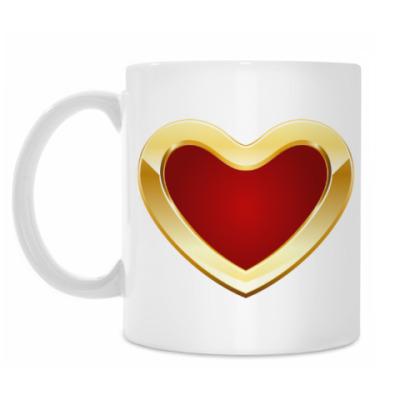 Кружка Golden Heart