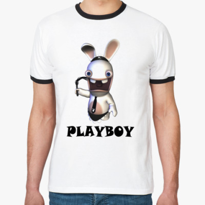 Футболка Ringer-T  Playboy