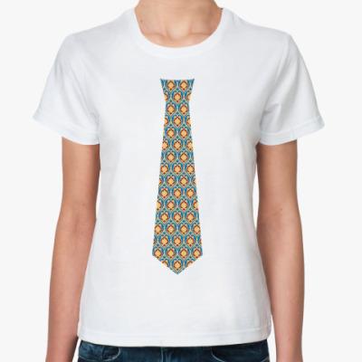 Классическая футболка Галстук