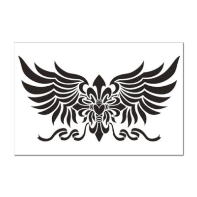 Наклейка (стикер) Крылья ангела