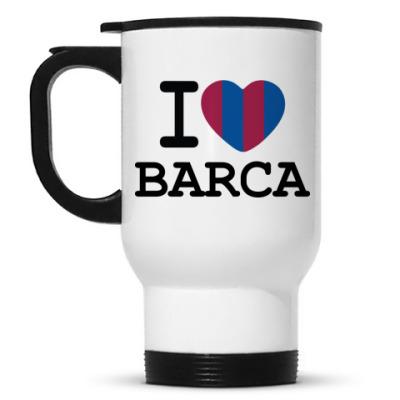 Кружка-термос I Love Barca