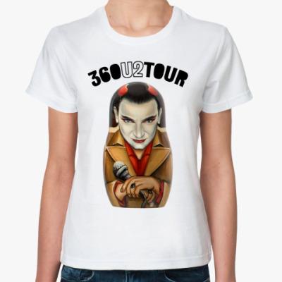 Классическая футболка  U2