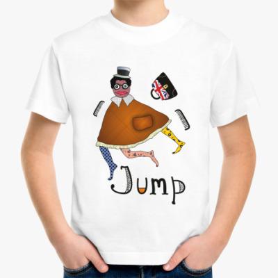 Детская футболка  'Прыжок'