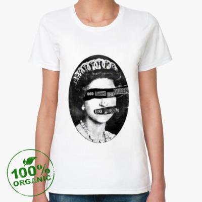 Женская футболка из органик-хлопка Sex Pistols