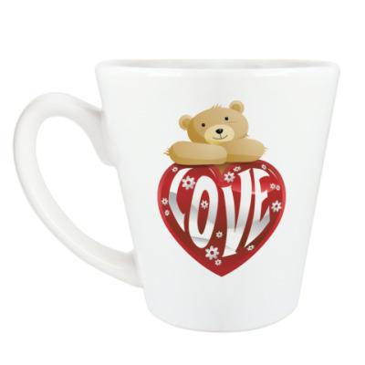 Чашка Латте Love Bear