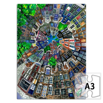 Пазл Спиральный Амстердам