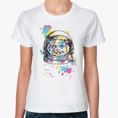 Классическая футболка Космо Кот