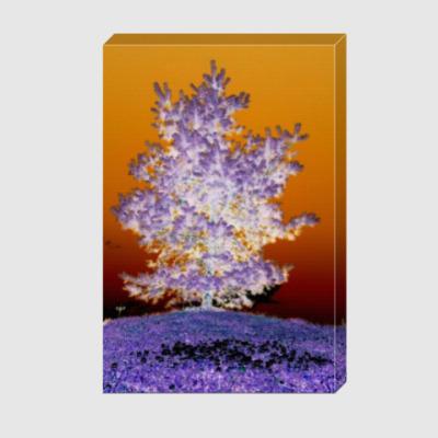 Холст Дерево