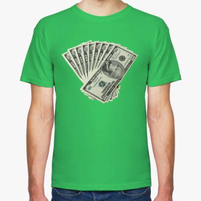 Футболка Деньги. Доллары
