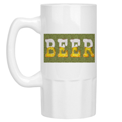 Пивная кружка 'BEER'