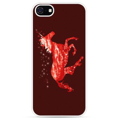 Чехол для iPhone Рубиновый Единорог
