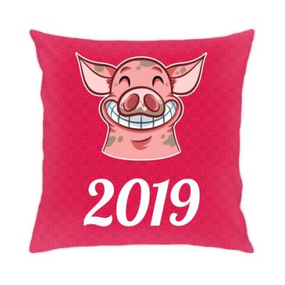 Подушка Smile Piggy 2019