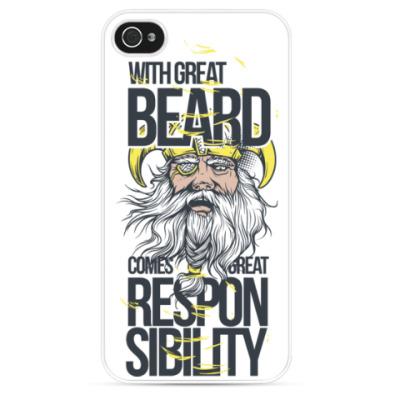 Чехол для iPhone Борода