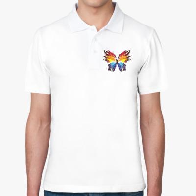 Рубашка поло Бабочка