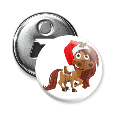 Магнит-открывашка Магнит-открывашка с лошадкой