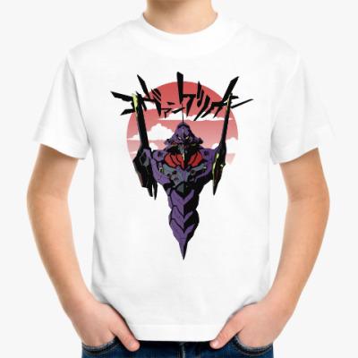 Детская футболка Евангелион