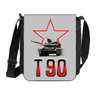 Сумка на плечо (мини-планшет) Танк Т-90