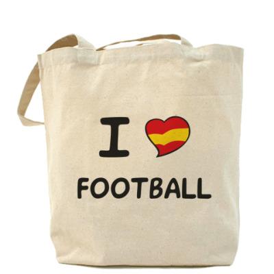 Сумка Я люблю испанский футбол