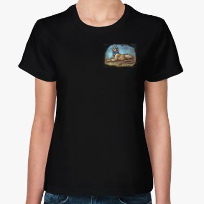 Женская футболка Сфинкс