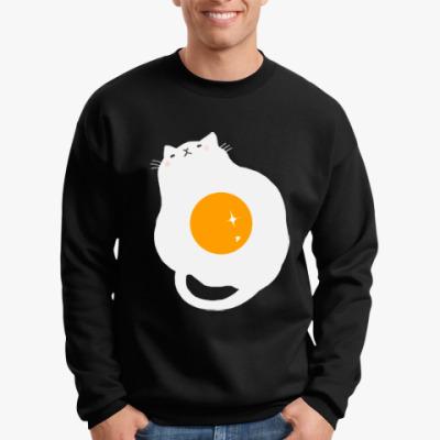 Свитшот Кот-яичница