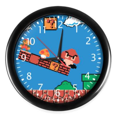 Часы mario 8 bit
