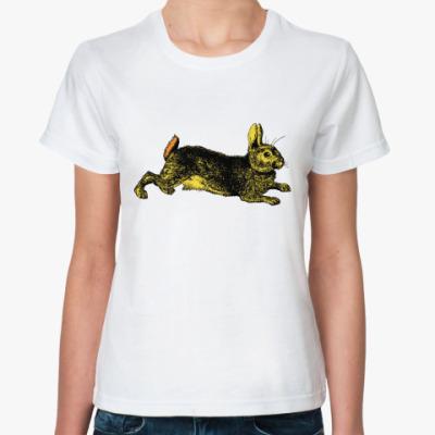 Классическая футболка Зайчик