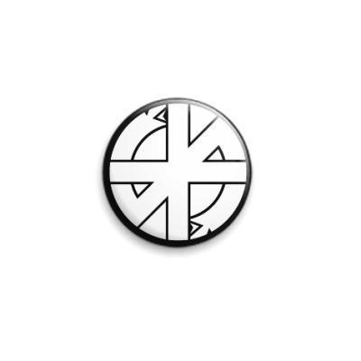 Значок 25мм Crass 'Symbol'
