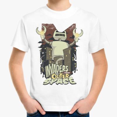 Детская футболка Космические Захватчики