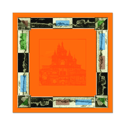 Наклейка (стикер) оранжевое решение