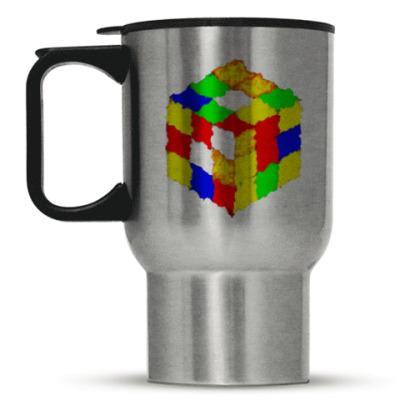 Кружка-термос Кубик Рубика