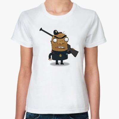 Классическая футболка Шамиль-охранник