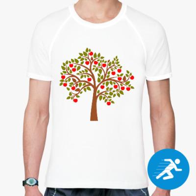 Спортивная футболка Яблоня