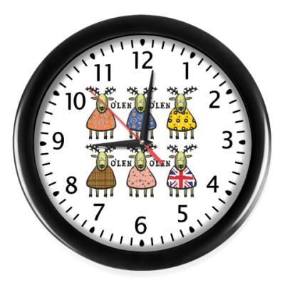 Настенные часы Олень
