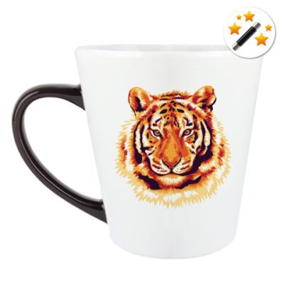 Кружка-хамелеон Тигр