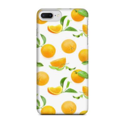 Чехол для iPhone 7 Plus апельсинки